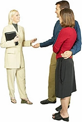 Expert Advising Couple Image